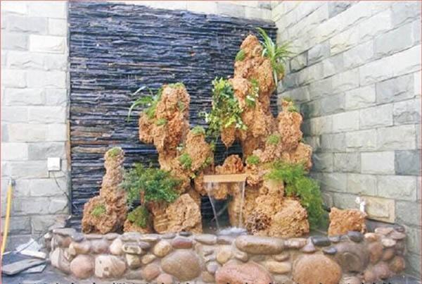 庭院假山展示