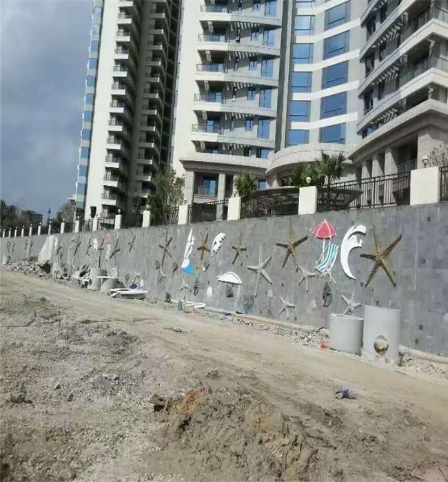沙滩砂岩浮雕